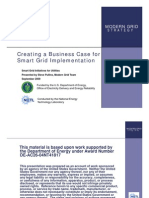 Creating a Business Case for Smart Grid 10-2009