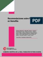 Recomendaciones Sobre as en Hemofilia (2009)