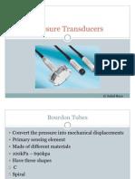 Pressure Transducers