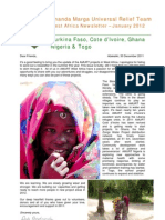 AMURT West Africa Newsletter December 2011
