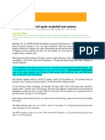 Nerve News_Oct 22, 2008_Indian Equities in Red Again on Global Nervousness