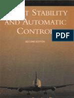 Flight Stability & Automatic Control