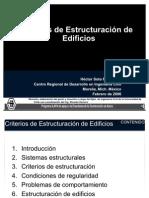 Criterios Estructuración