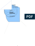 Rapport Vote Electronique SAMAH BENTAYBI