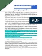 SmasHits_Sept 30, 2008_Markets End in Green Despite Grim Global Cues