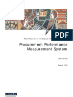 Procurement Performance Measurement System