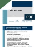 About IABC Poland Pl 092011