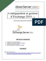 Configuration et gestion d'Exchange 2010 (tuto de A à Z)