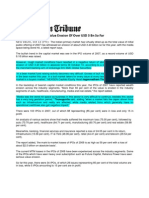 The Assam Tribune_Oct 13, 2008_IPOs of 2007 Witness Value Erosion of Over USD 3 Bn So Far