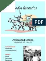 Periodos literarios 2012