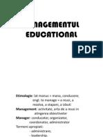 Managementul Educational 1