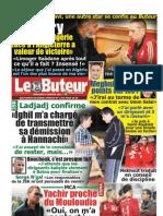 LE BUTEUR PDF du 04/01/2012