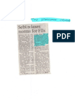 The Statesman_Oct 17, 2008_SEBI Eases Norms for FIIs