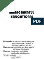 Managementul Educational