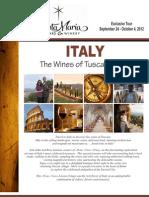 Santa Maria Wine Tour Brochure