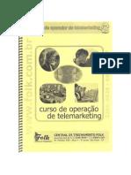 curso de operação de telemarketing
