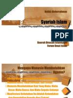 Kerangka Umum Syariah