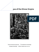 The Collapse of the Khmer Empire