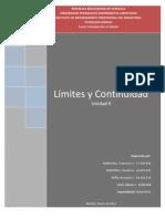 UNIDAD II- Límites y continuidad