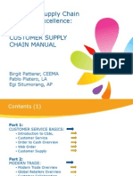 Coe Customer Supply Chain Manual