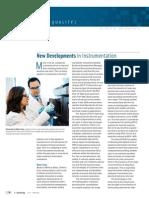 12 New Developments in Instrumentation