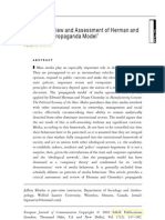 A Critical Review and Assessment of Herman and Chmasky's an Model
