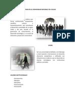 Analisis Foda de La Universidad Nacional Del Callao