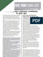 News You Can Use 2006_03_Whole Grain Evidence