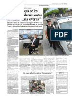 Entrevista Horacio Gimenez, Jefe de La policía Metropolitana