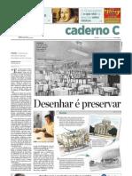 Cavani no Caderno C - 01.01.2012