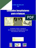 Livro de Bolso - Cuidados Hospital Ares Para Criancas
