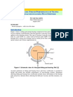 Analysis of Tilt Pad Bearings