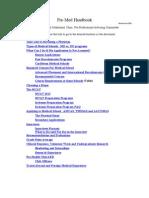 PreMed Handbook