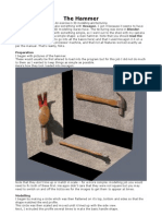 The Hammer- a 3D modelling exercise
