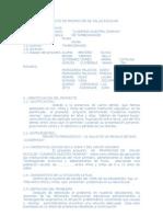 Esquema de Proyecto de Salud Bucal