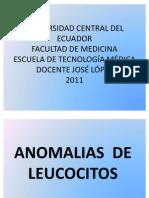6.ANOMALIAS DE LEUCOCITOS