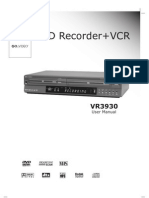 Go Video VR3930 User Manual