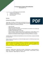 Acta comisión Congreso CED