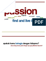 Passion - Find and Live It!