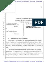 Cha Injunction Order