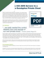 Eucalyptus Plinga User Story