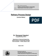 Refinery Process Design Notes_for IITG
