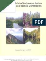 Manual de Criterios Tecnicos Para Declarar Parques Ecologicos Municipales