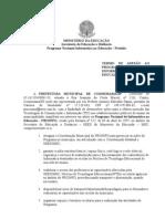 Termo de Adesao Proinfo