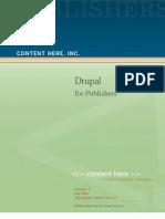 Drupal for Publishers