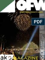OFW Ako Magazine ONLINE Edition Issue 001