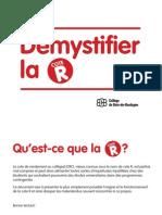 Demystifier La Cote r
