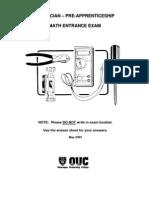 Electrician+Entrance+Exam