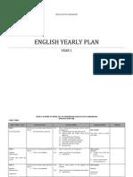 YEARLY Plan English Year 1