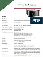 Runco-D-113d-Specs
